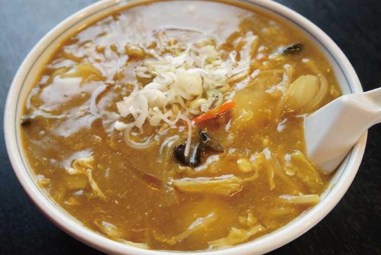 中国料理廣河の味噌カレー広東麺