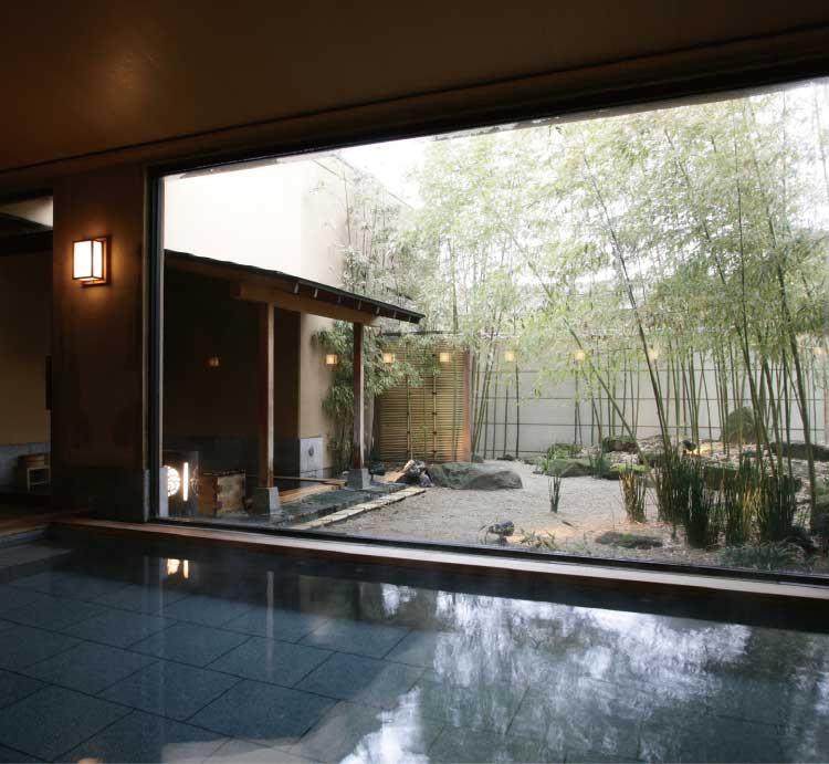 竹葉新葉亭の温泉