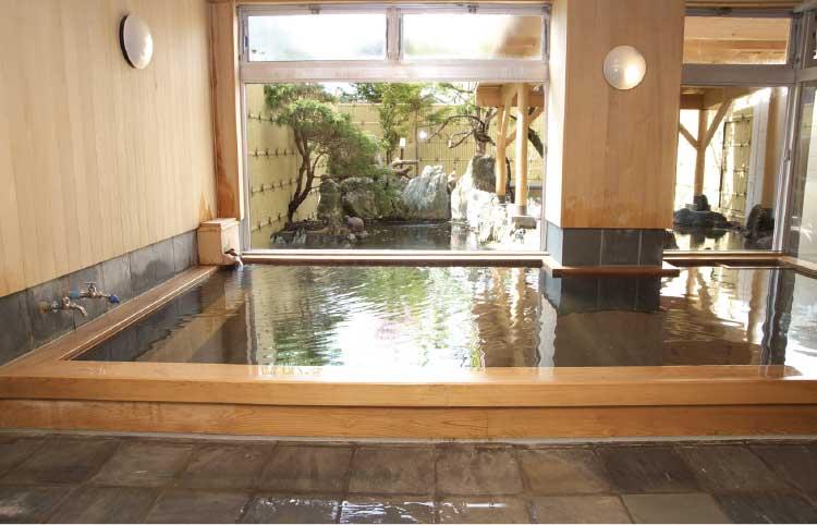 河畔亭のお風呂
