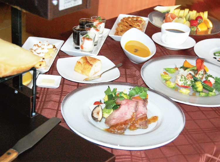 レストラン ル・ヴァンの7周年ランチ