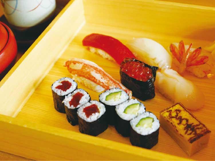 鮨ひろ季の鮨ランチ