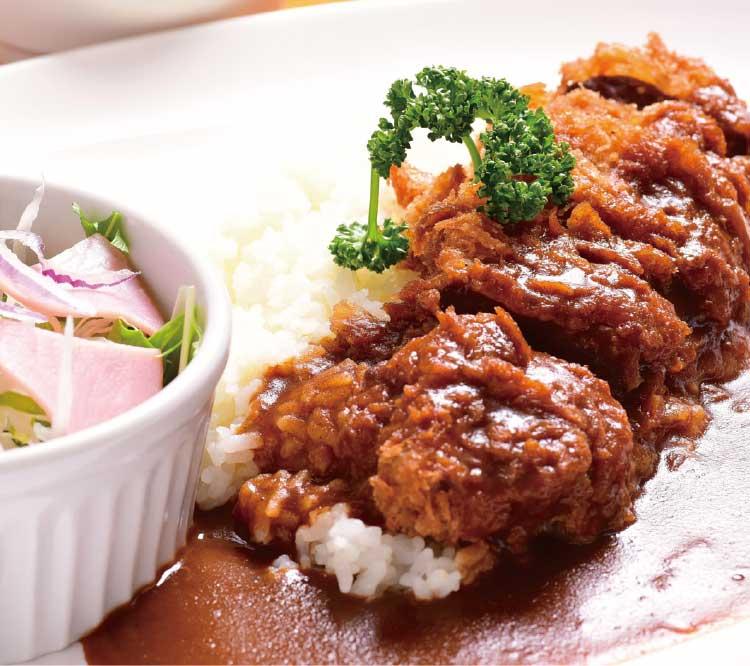 渡島総合振興局食堂の鹿肉のエスカロップ