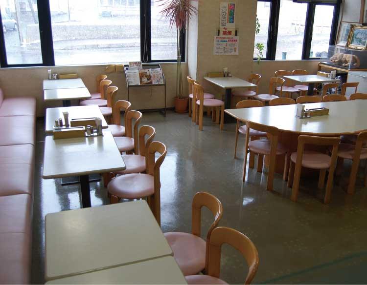 サンリフレ函館内のレストランローカン
