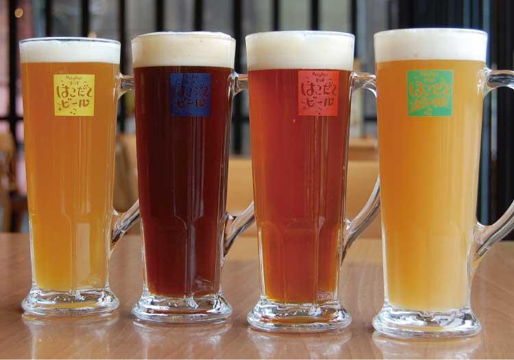 はこだてビールのビール各種
