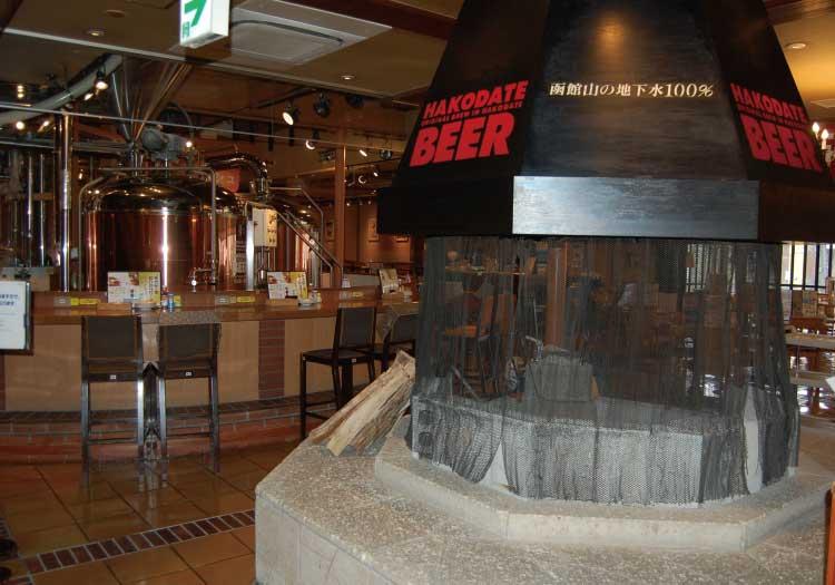 はこだてビール店内