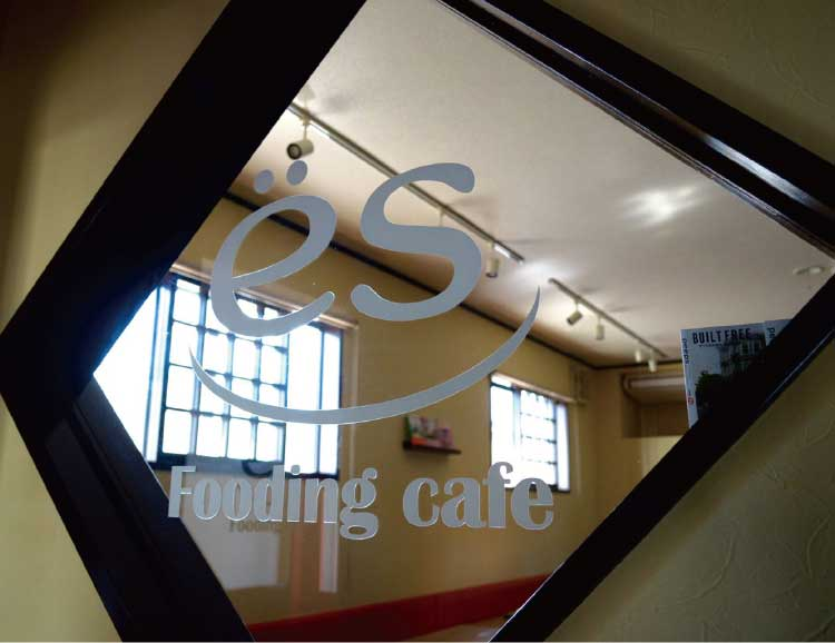 FOODING CAFE es店内