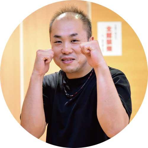 スマイルボクサのトレーナー笹森弘二さん