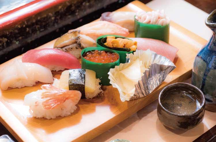 浜鮨の握り寿司