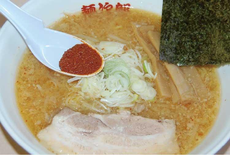 ラーメン専科麺次郎石川店四川みそラーメン(中辛)