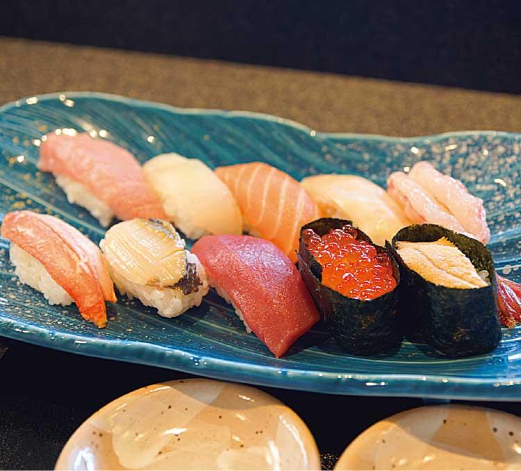 雷門鮨の握り寿司