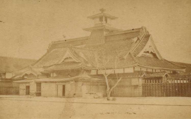 江戸時代当時の箱館奉行所