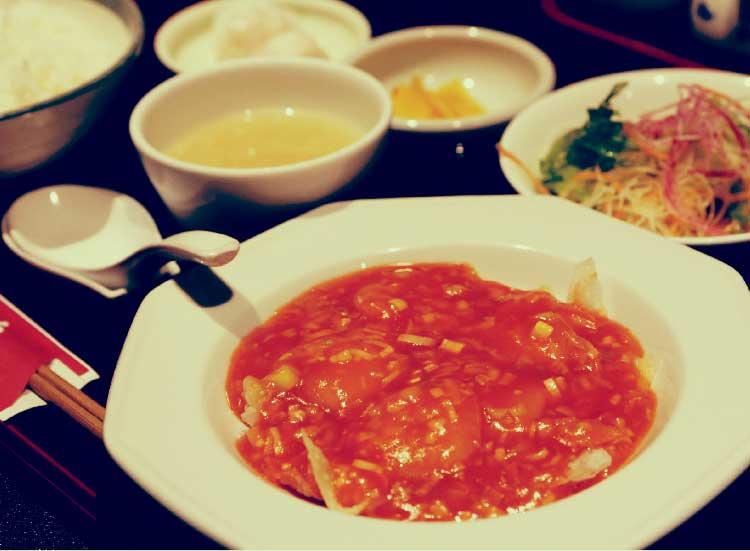 中華料理李太白のチョイスランチ