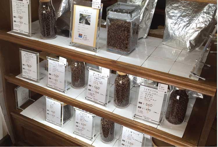 テーラードコーヒーで使ってる豆各種