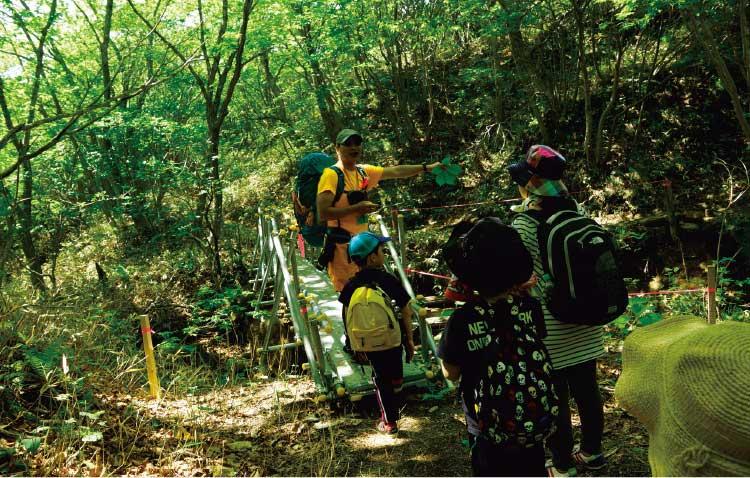 自然倶楽部の恵山散策