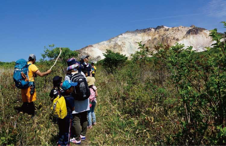 自然倶楽部で行く恵山登山