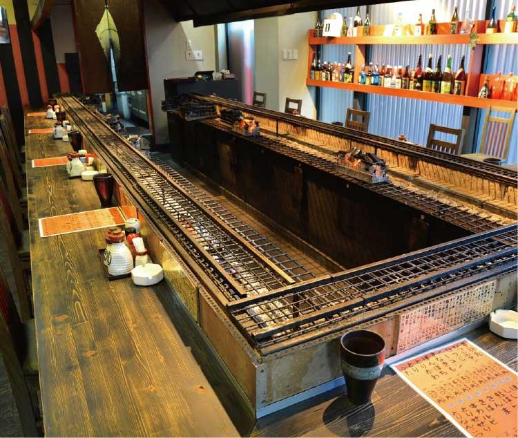 串山串蔵のカウンター