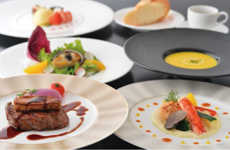 函館国際ホテルアゼリアのフレンチコース