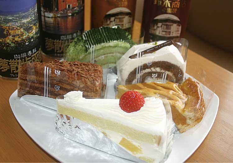 棒二森屋のクリスマスケーキ