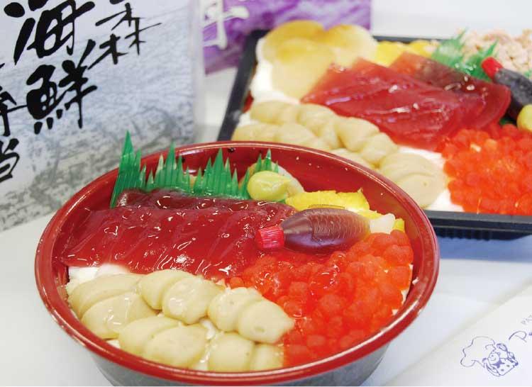 プティ・メルヴィーユの函館海鮮スイーツ丼