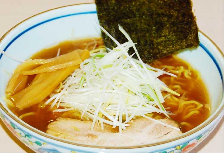 ラーメン専科麺次郎石川店の焼きあご魚醤油ラーメン