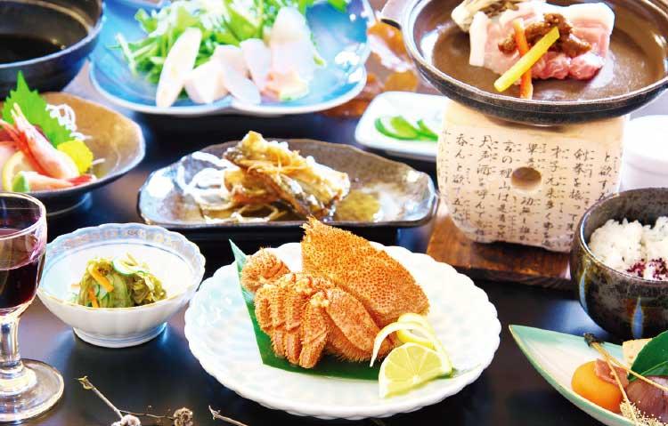 河畔亭の宴会プラン料理
