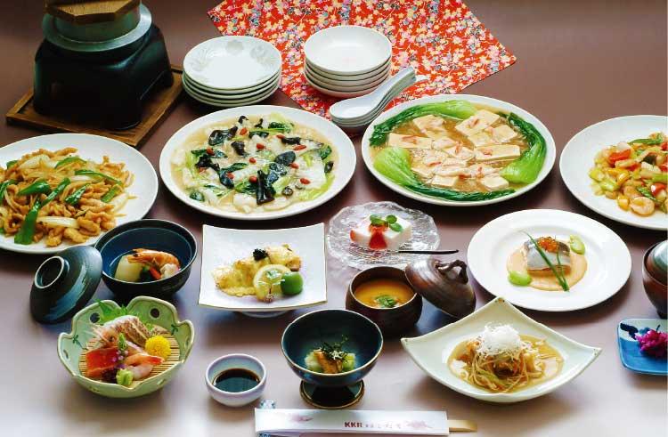 KKRはこだてのご法要・ご法事会食プラン料理中華