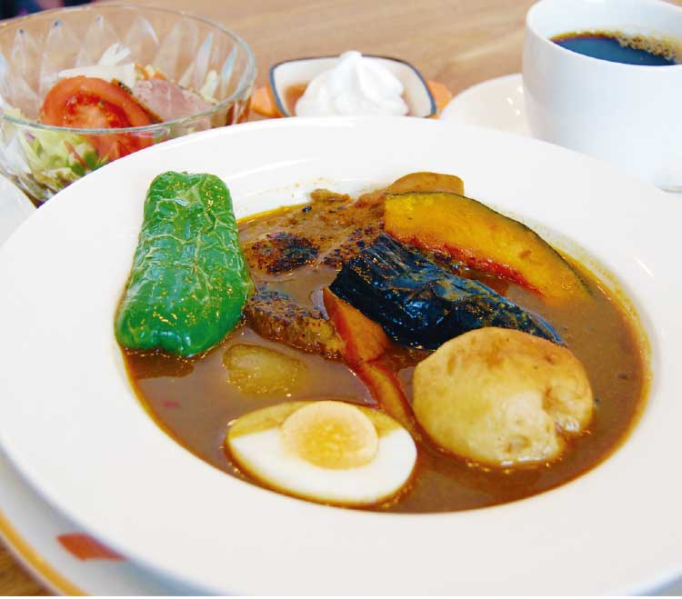 カフェアキラのakira流スープカレー