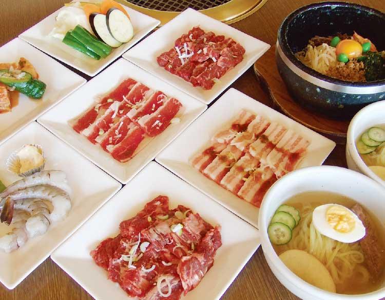 焼肉レストラン一心亭の食べ放題おすすめコース