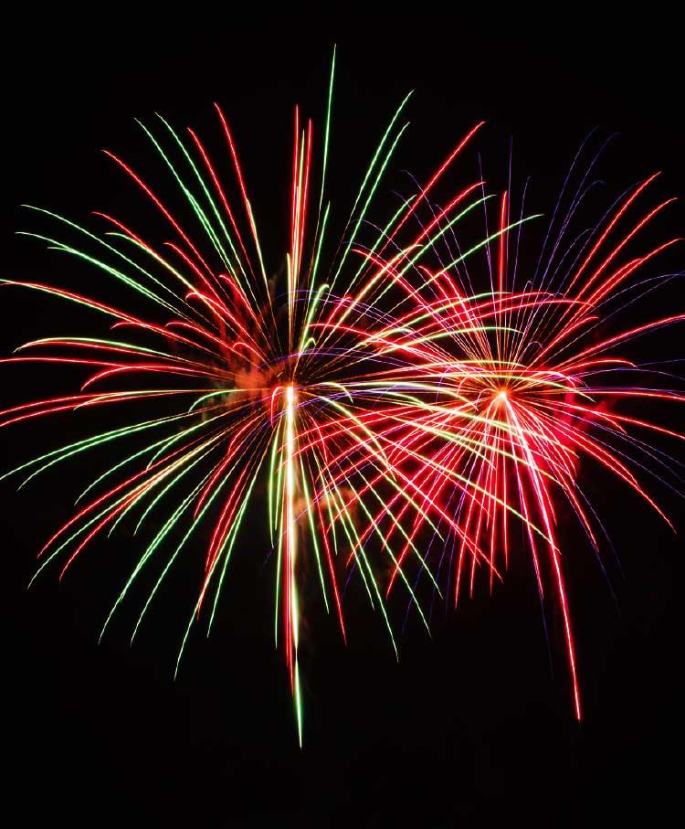 グリーンピア大沼の花火大会