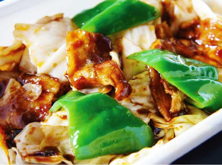 中国料理・幸珍の回鍋肉