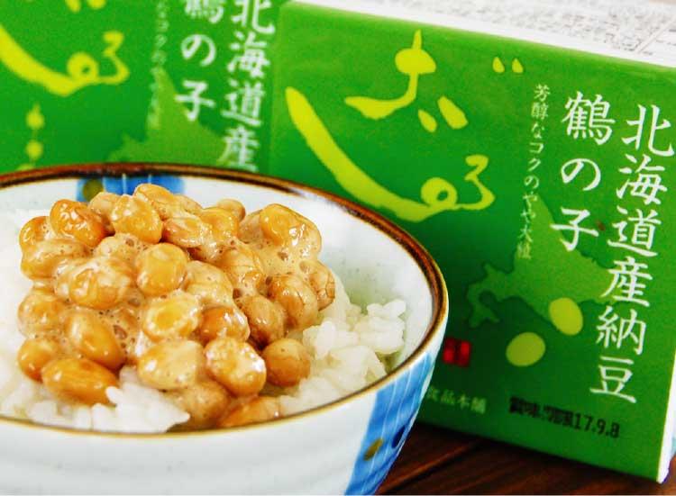 株式会社だるま食品本舗の鶴の子大豆納豆