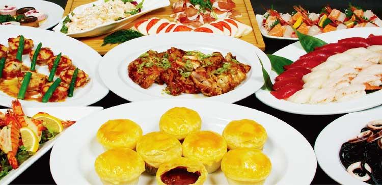 ホテルリソル函館のコース料理