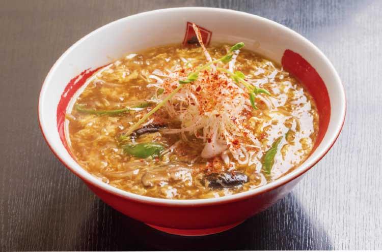 らーめん旭の酸辣湯麺