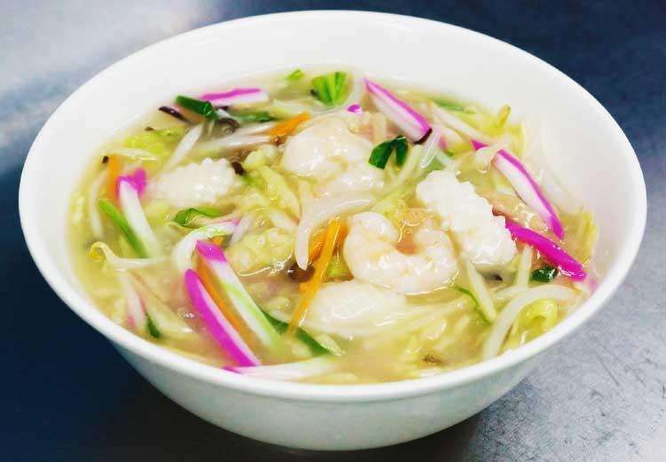 中国料理張家口のちゃんぽん麺