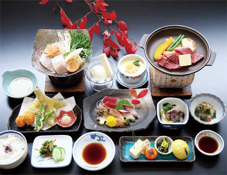 5400円プランの料理