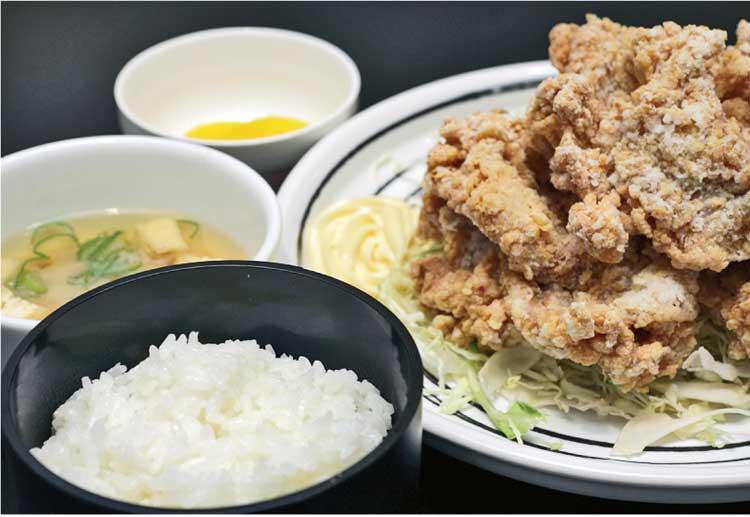 味彩食堂 ザンギ定食