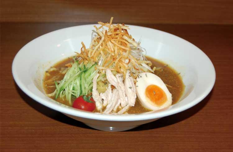 ラーメン専科 麺次郎田家店 冷やしカレーラーメン
