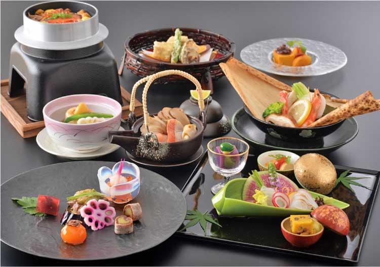 函館国際ホテル 日本料理 松前 和食コース