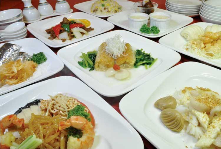 中国料理ぎょくらん ディナーコース