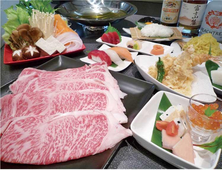 ホテルリソル函館 道産和牛しゃぶしゃぶ御膳
