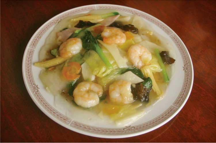 中国料理 李太白 海老焼きそば