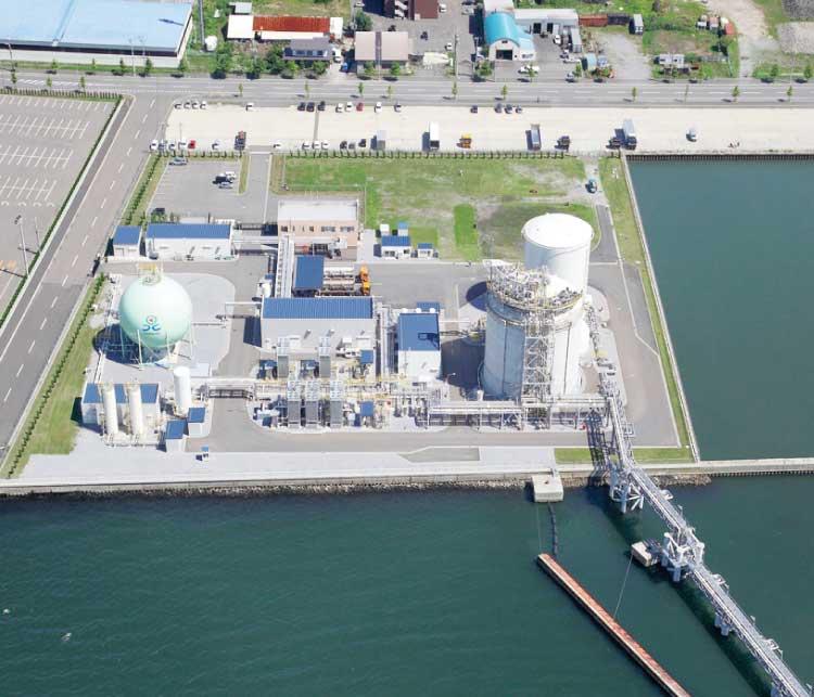 北海道ガス函館みなと工場