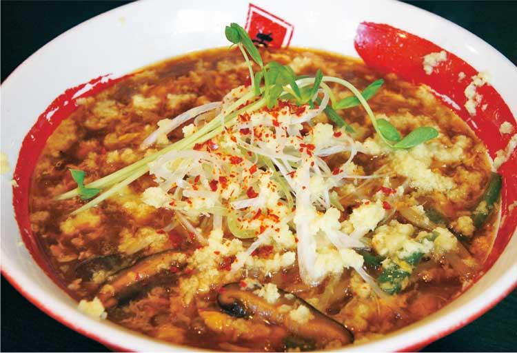 らーめん旭昭和本店 スーラータン麺+ぶっかけ生姜