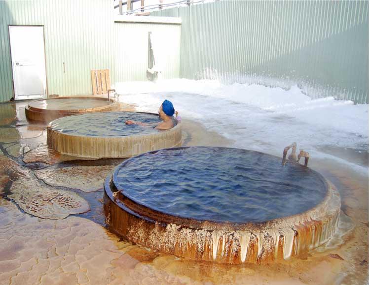 西ききょう健康グランド 丸型の浴槽