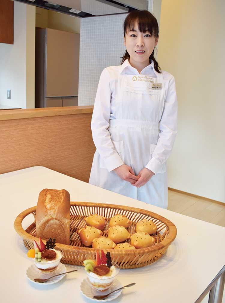 パン教室fumi 代表の小林フミさん