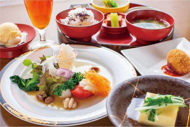 五稜郭 代志川 野菜のコース