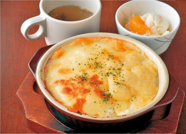 ファミリーレストラン 中華ジャンジャン「3種のチーズドリア」