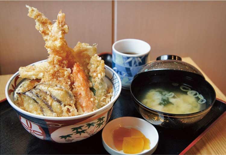 湯元 山の手温泉 天丼