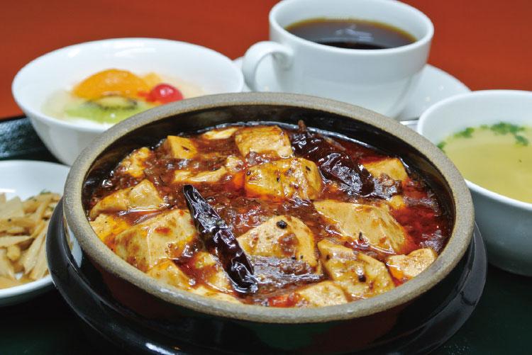 『中国料理 ぎょくらん』のランチ