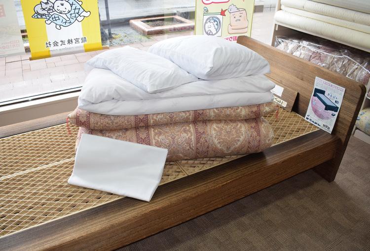 『タジマ寝具』のおもてなしレンタル布団